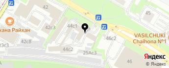 37 на карте Москвы