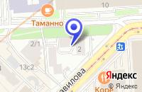 Схема проезда до компании ПТФ ВЕГА-СТИЛЬ в Москве