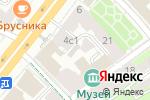 Схема проезда до компании Городской попечительский совет правоохранительных органов в Москве