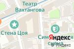 Схема проезда до компании Студия ЛиссЭ в Москве