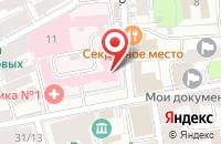 Схема проезда до компании Алтын в Москве