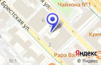 Схема проезда до компании МЕДИЦИНСКИЙ ЦЕНТР МОСПРОЕКТ-КМ в Москве