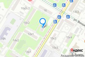 Снять однокомнатную квартиру в Москве Большая Черёмушкинская ул., 10к1