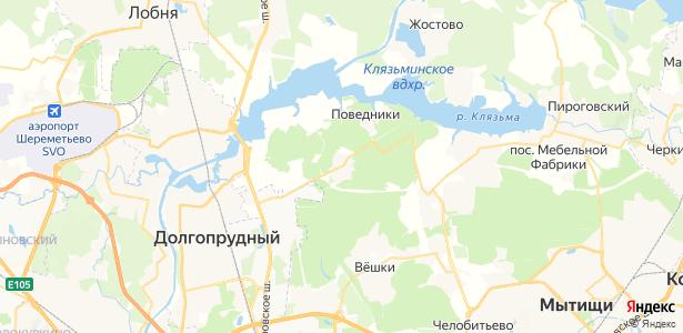 Афанасово на карте