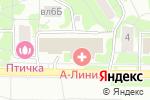 Схема проезда до компании Склад-магазин одеял и подушек в Москве