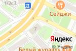 Схема проезда до компании Азбука АйТи в Москве
