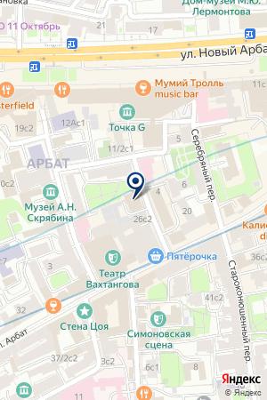 ТУРИСТИЧЕСКАЯ ФИРМА AIK TOUR на карте Москвы