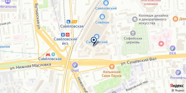 CoolerLand на карте Москве
