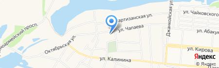Старомихайловская общеобразовательная школа I-III ступеней на карте Старомихайловки