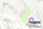 Схема проезда до компании Элмон в Москве