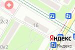 Схема проезда до компании Москитные сетки Нагорная в Москве