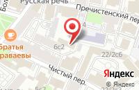 Схема проезда до компании Ридкар в Москве