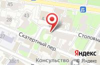 Схема проезда до компании Стройдиалпроект в Москве