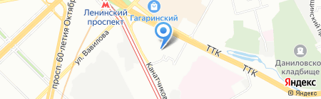 Фиат клуб на карте Москвы