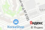 Схема проезда до компании Гидрозапчасть в Москве