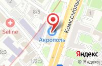 Схема проезда до компании Принт Нау в Москве