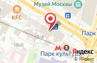 Схема проезда до компании Лингва Плюс в Москве