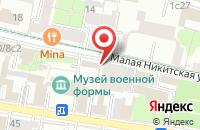 Схема проезда до компании Летний Сад в Москве
