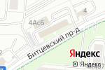 Схема проезда до компании РБР в Москве