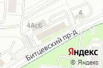 Схема проезда до компании Vintage в Москве