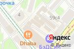 Схема проезда до компании HotelHot в Москве