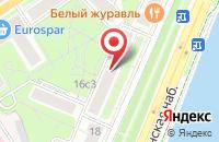 Схема проезда до компании Спецстрой-Сервис в Москве