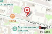 Схема проезда до компании Юридическая Литература в Москве