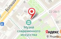 Схема проезда до компании Эс Эф Продакшн в Москве