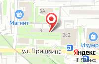 Схема проезда до компании Компания Декор Багет в Москве