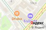 Схема проезда до компании FlexSoft в Москве