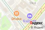 Схема проезда до компании Бригантина холл в Москве