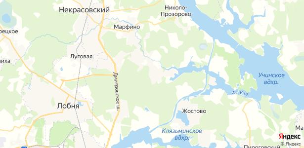 Аксаково на карте