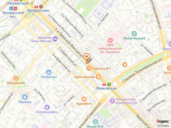Остановка «Ул. Юлиуса Фучика», 1-я Тверская-Ямская улица (1001918) (Москва)
