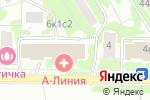 Схема проезда до компании Владкомбанк в Москве