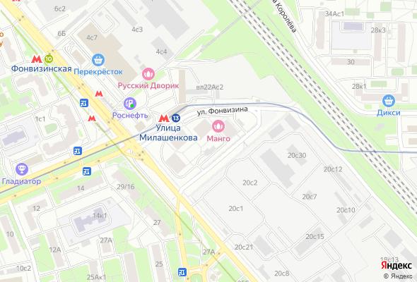 жилой комплекс Фонвизинский