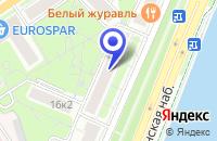 Схема проезда до компании МЕБЕЛЬНЫЙ САЛОН АВАНГАРД в Москве