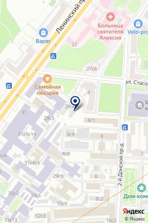 ПТФ SBH на карте Москвы