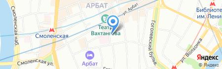 Тирольские пироги на карте Москвы