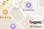 Схема проезда до компании Орджоникидзе 11 в Москве