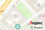 Схема проезда до компании VISAN в Москве