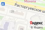 Схема проезда до компании Магазин все для дома в Бутово