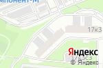 Схема проезда до компании Hi-fashion studio в Москве