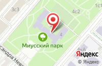 Схема проезда до компании Лантек в Москве