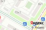 Схема проезда до компании Мастерская по ремонту обуви и изготовлению ключей на ул. Винокурова в Москве