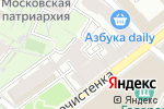 Схема проезда до компании Tailor House в Москве