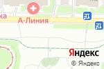 Схема проезда до компании Авто-Новатор в Москве