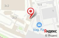 Схема проезда до компании Скринпринтинг в Москве