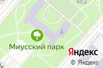 Схема проезда до компании Дворец творчества детей и молодежи на Миуссах в Москве