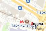 Схема проезда до компании Трансаэро в Москве