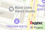 Схема проезда до компании Шиномонтажная мастерская на Чертановской в Москве